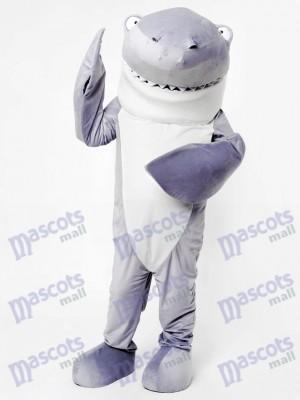 Mascotte de requin gris requin costume adulte