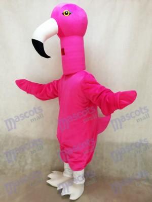Costume mignonne de mascotte d'oiseau de flamant