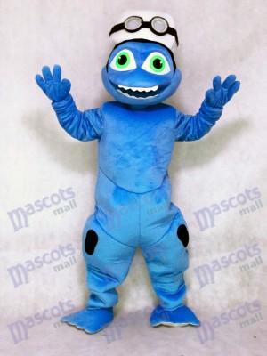 Costume de mascotte fou grenouille mignonne déguisement Outfit Animal