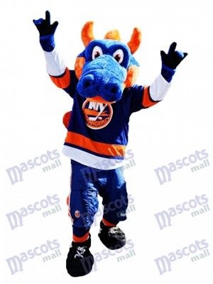 Sparky le dragon pour Costume de mascotte des Islanders de New York Animal