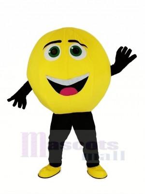 le Emoji dans Noir Film Personnages Gene Mascotte Déguisements Dessin animé