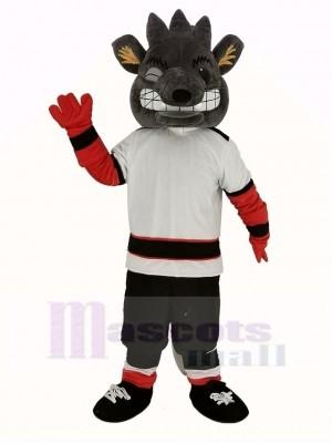 Albany rivière Les rats Mascotte Costume La glace Le hockey Équipe