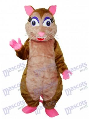 Déguisement de mascotte de campagnol pour animaux