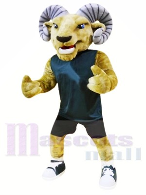 Animal de sport Ram Costumes De Mascotte