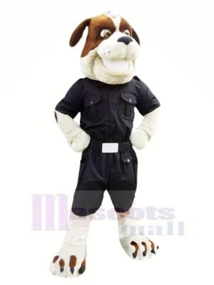 Fort Police Chien Mascotte Les costumes Dessin animé
