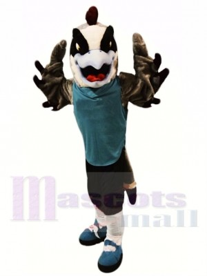 Faucon sportif Costume de mascotte