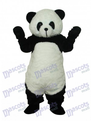 Panda en peluche Costume adulte de mascotte