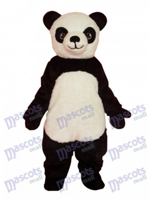 Super mignon panda géant adulte costume de mascotte animal