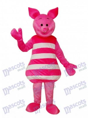 Petit Costume Mascotte de Cochon Rose Animal