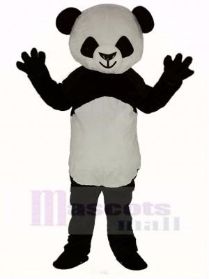 Mignonne Cheveux courts Panda Mascotte Costume