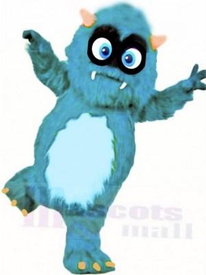 Duveteux Bleu Monstre Mascotte Costume