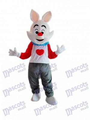 Costume adulte de mascotte de lapin Dada de Pâques Animal