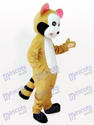 Costume de mascotte adulte rose raton laveur