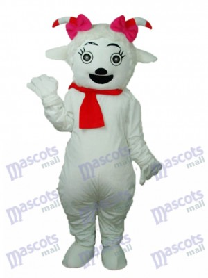 Beauté Mascotte de Mouton Adulte Costume Animal