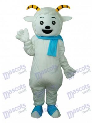 Costume de mascotte chèvre agréable adulte