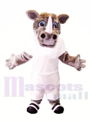 sport Poids léger Rhinocéros Costumes De Mascotte