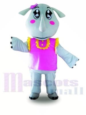 Gilet rose Rhinocéros Costumes De Mascotte