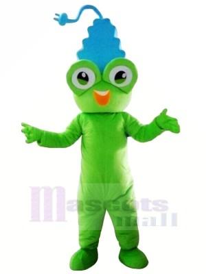 Mignonne La grenouille Prise de courant Mascotte Les costumes Dessin animé