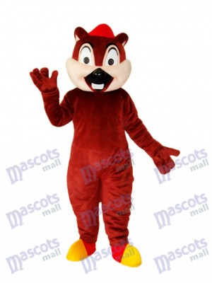 Écureuil ours mascotte costume adulte animal