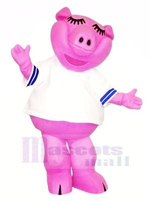 Haute Qualité Rose Porc Mascotte Les costumes Pas cher