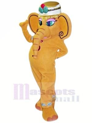 Shaka l'éléphant Mascotte Les costumes Dessin animé