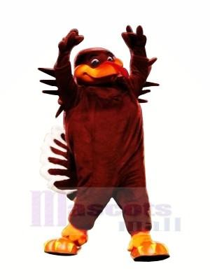 rouge Hokie Oiseau Mascotte Les costumes Dessin animé