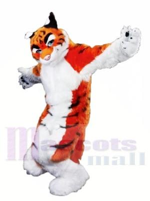 Furry Tiger de haute qualité Costumes De Mascotte