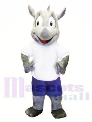 Haute qualité Rhinocéros Costumes De Mascotte
