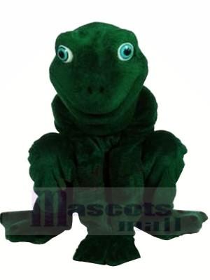 Haute Qualité Réaliste La grenouille Mascotte Les costumes