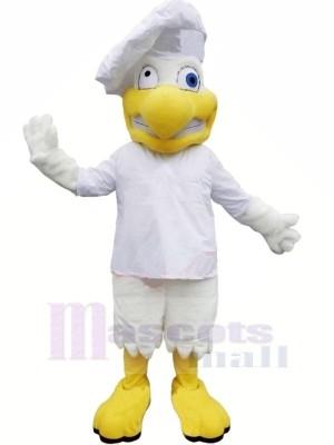 Drôle Chef poulet Mascotte Les costumes adulte