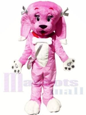 Mignonne Rose Chien Mascotte Les costumes Animal