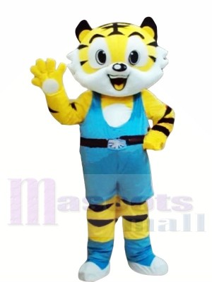 Nouveau style Tigre jaune Costumes De Mascotte