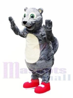Heureux écureuil léger Costumes De Mascotte