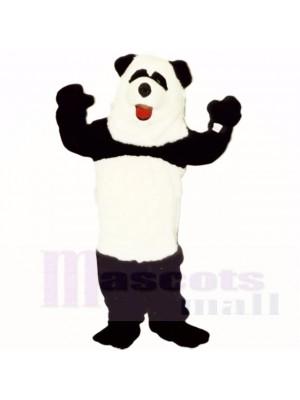 Costumes de mascotte panda forte de qualité supérieure