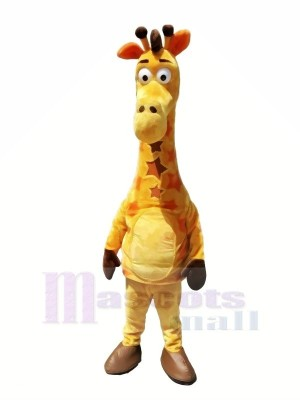 Halloween Girafe Mascotte Les costumes Pas cher