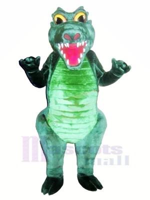 Fort vert Crocodile Mascotte Les costumes