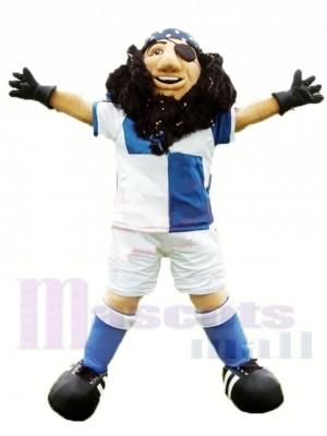 Capitaine pirate sportif Costume de mascotte