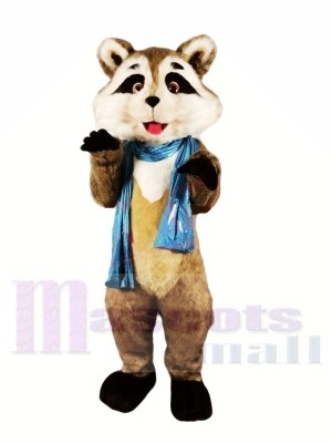 Mignonne Poids léger Raton laveur Costumes De Mascotte