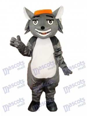 Wolf Fang Mascotte Costume adulte Animal
