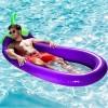 Gonflable La natation Flotte Aubergine Forme Salon chaise