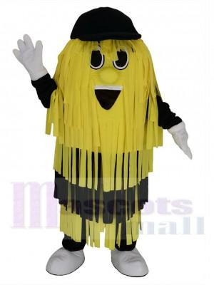 Jaune et Noir Brosse de nettoyage de lavage de voiture Costume de mascotte