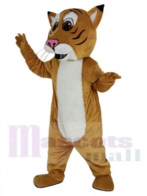 Lynx costume de mascotte
