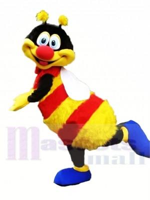 Coloré Heureux abeille Mascotte Les costumes Animal