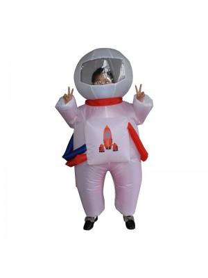 Mignonne Astronaute Gonflable Costume Coup en haut Le maillot de corps pour Enfant