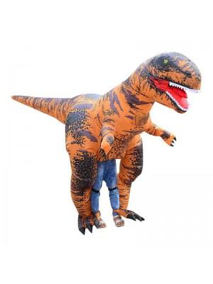 Super T-Rex Dinosaure Gonflable Costume Tyrannosaurus Halloween Noël Le maillot de corps pour Adulte/Adolescent/Enfant