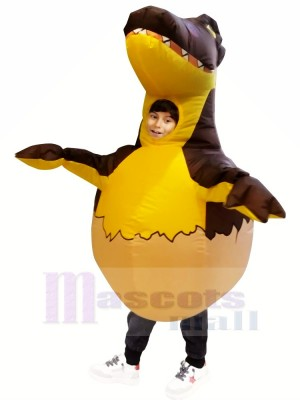 Gonflable Dinosaure Oeuf Costume Halloween Dino Noël pour Des gamins