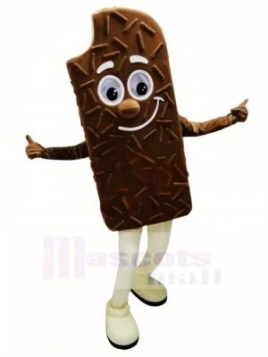 Chocolat géant Crème glacée Costume de mascotte