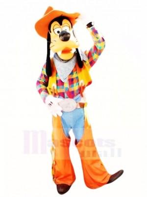 Cowboy Goofy Costume de mascotte