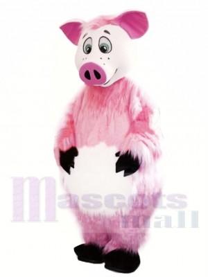 Beau cochon rose Costume de mascotte