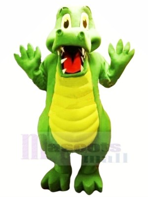 Incroyable Qualité Alligator Mascotte Les costumes Animal